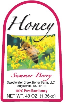 3lb Summer Berry label picture
